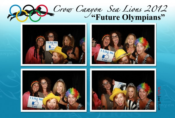 wacky photo booth at fundraiser events