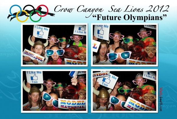 fun photo booth with students in fundraising events