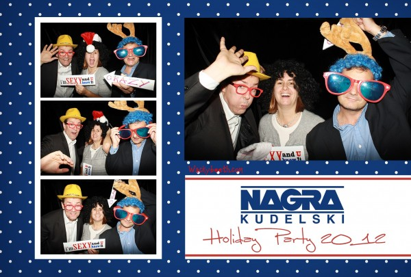 Christmas Party props photo booth rental in palo alto