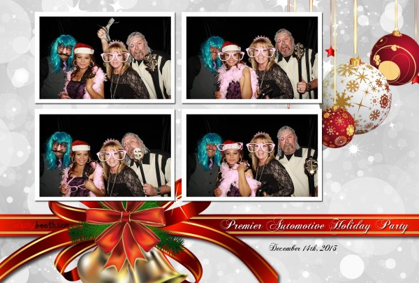 Wonderful Christmas Party Of Nissan Premier. Photo Booth Rental San Jose