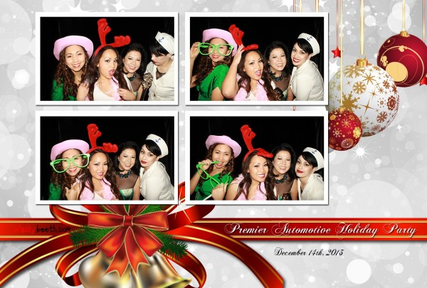 Corporate event's christmas party