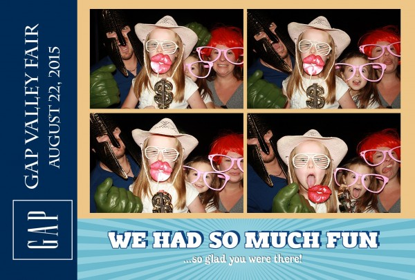 Event Photo booth rental at GAP event