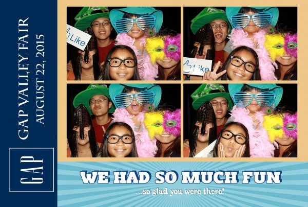 Photo booth rental Steven's Creek San Jose CAlifornia