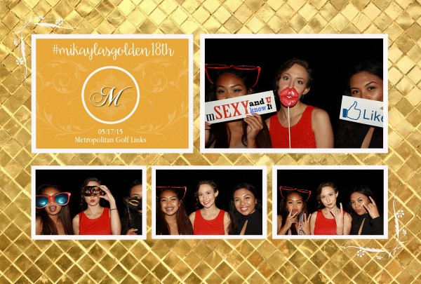 18th Birthday Photo Booth Rental