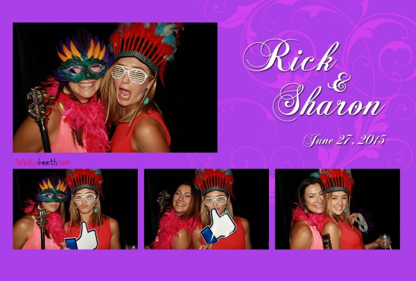 free use of props in Photobooth rental San Ramon California Outdoor Wedding