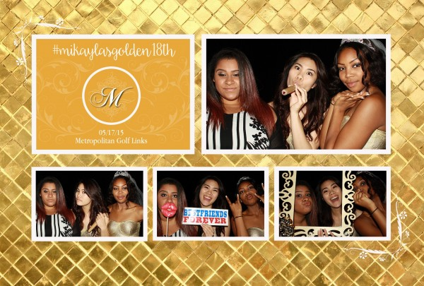 Photobooth Rental in Oakland California 18th Birthday