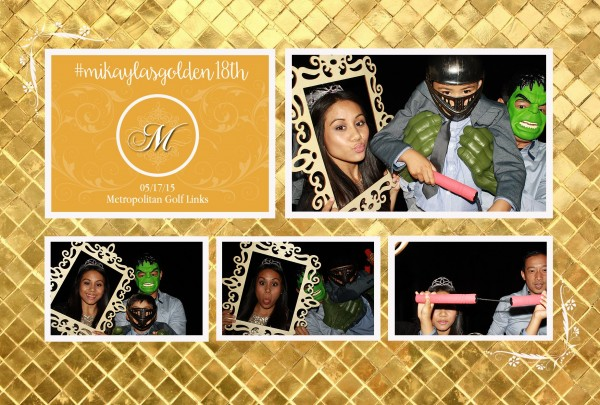 18th Birthday Party Photobooth Rental