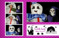 Holloween Party Photo Booth Template