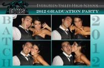 Graduation Photo Booth Design