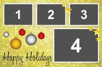 Gold theme Corporate Events/Holiday Party