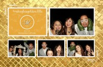 Gold Theme Wedding and Birthday Party Template