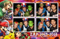 Superhero photo booth rental print layout