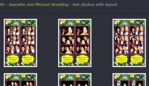 photo booth rental in santa clara with online gallery