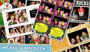 San Francisco Bay Area photo booth with custom layout
