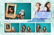 Quincenera Photo booth template