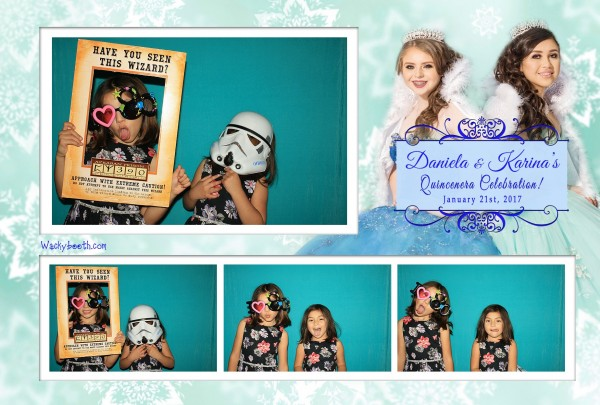 Quincenera Photo booth template | Fun Wacky Photo Booth | Photo ...