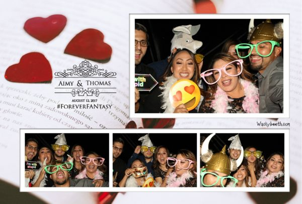 Wackybooth photo booth rental for your wedding and birthday parties