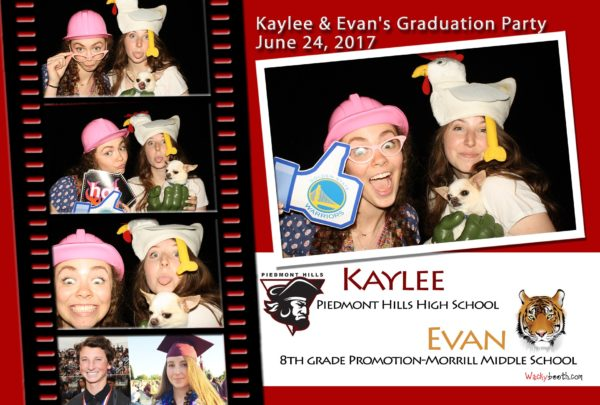san jose photo booth rental high school graduation ideas