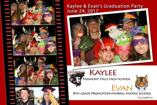 2018 contact Wackybooth for your photobooth rental on your graduation needs
