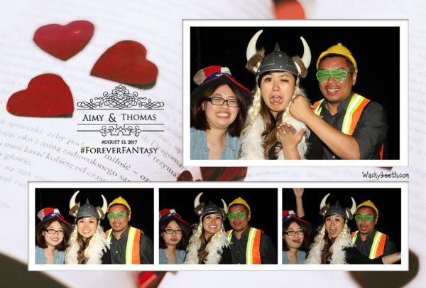 bay area photo booth rental for wedding
