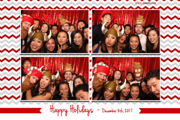 Fox Theater Holiday Party with photo booth