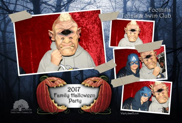 super fun hallowwen party palo alto photo booth