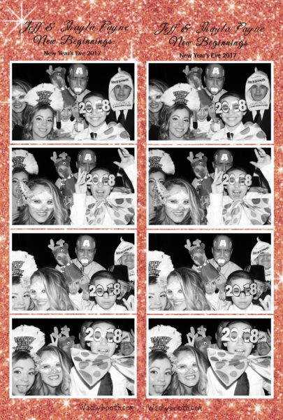 San Jose Bay Area Photo booth rental New Year's eve