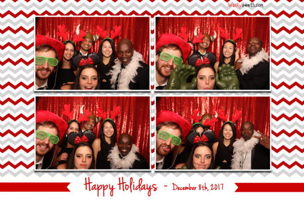 Photo Booth Rental Redwwod City Holiday Party