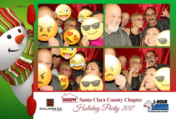 group photos of photo booth rental in san jose