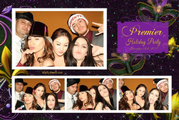 hilton Masquerade Ball photobooth rent