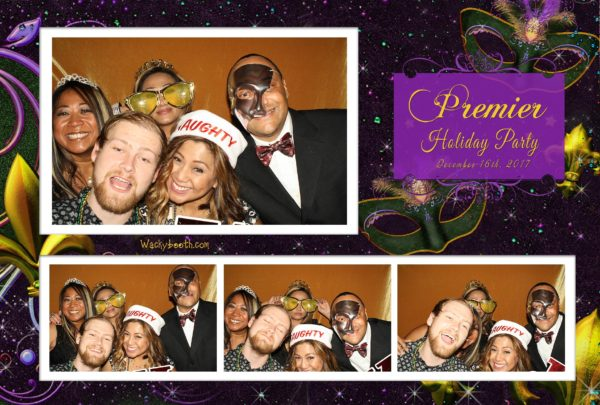 Christmas party fun ideas, rent wackybooth photobooth rental in santa clara