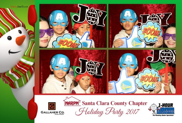 christmas party photo booth san jose