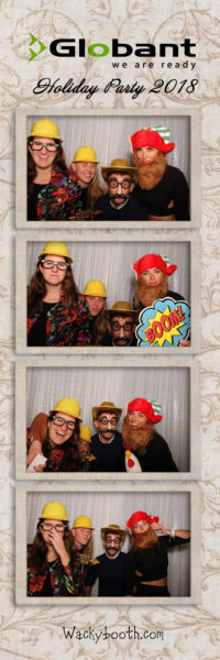 highly customizable photobooth rental layout and design with your own logo