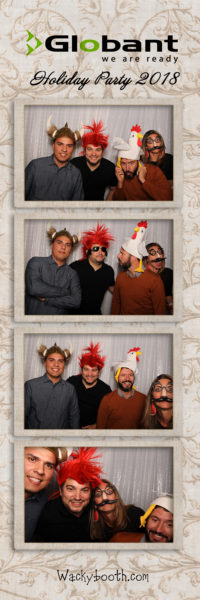 free use of photo booth props in WackyBooth Photobooth rental in SF Bay Area