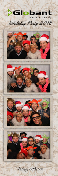 Fun photobooth rental in San Francisco Bay Area Holiday Party