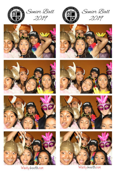 senior ball photo booth rental in san jose