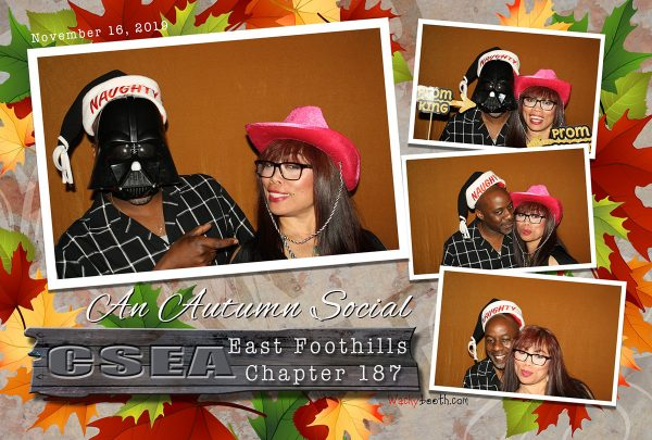 Christmas Party photo booth rental Starwars Theme in San Jose