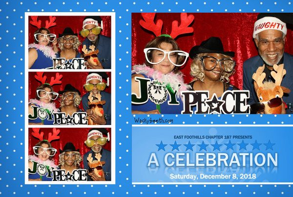 Christmas Party fun ideas for your photo booth rental needs.