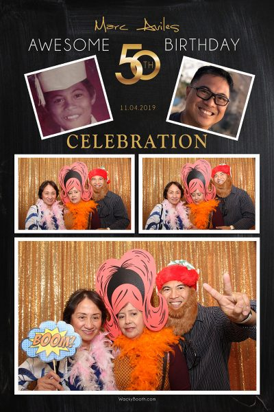 Holiday party photobooth rental in san bruno Patio Filipino