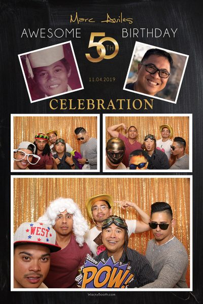 san mateo affordable photo booth rental for 50th birthday