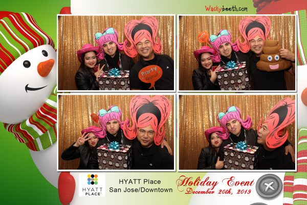 Hotel employee downtown san jose photo booth rental ideas