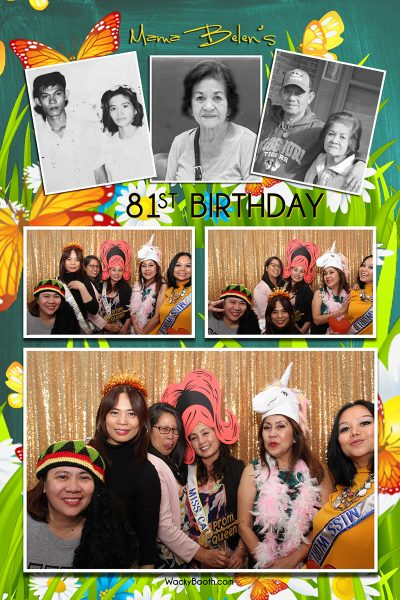 WackyBooth unlimited prints for your photobooth rental in San Jose California