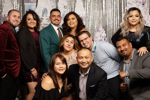 Company event for your custom backdrop san jose photobooth rental