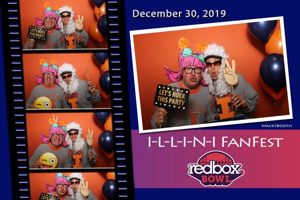 PhotoBooth REntal for your wedding and Birthday party or End-Of-Year get together WackyBooth Rental