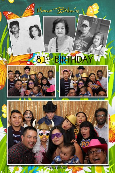 affordable photobooth rental in san jose with custom layout and unlimited prints to enjoy