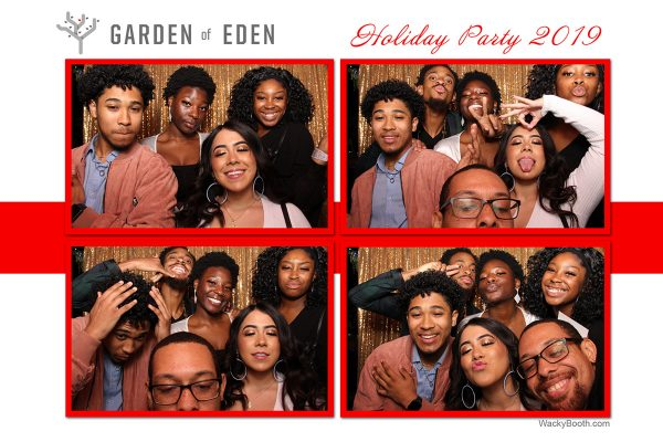 Oakland custom Christmas Party Photo Booth Rental