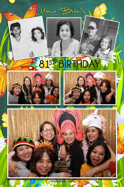 birthday party fun ideas for your photobooth rental