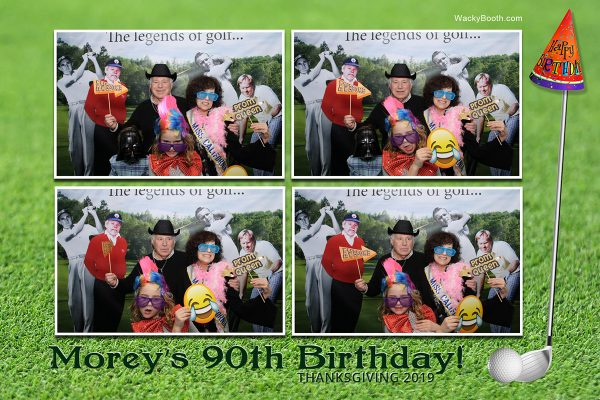 90th birthday party photo booth rental